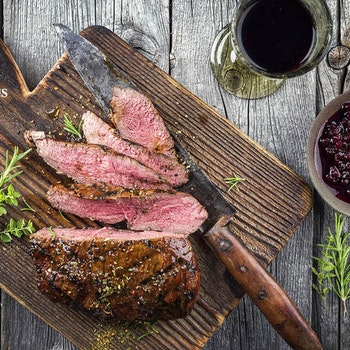 Vildsvinsytterfilé med BBQ smak