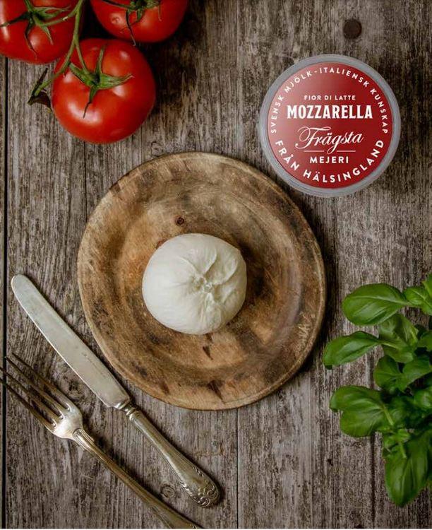 Mozzarella från Frägsta Mejeri