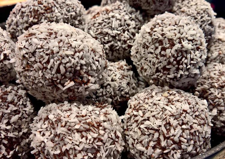 Chokladbollar med Fairtrade kakao - tema helg 7 - 8 maj