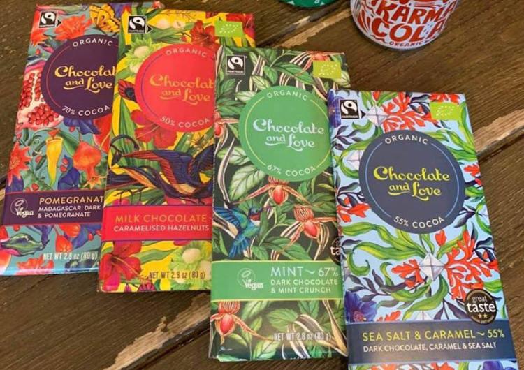Fairtrade choklad - tema helg 7 - 8 maj