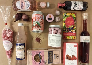 Sommargåvor - tema rosa