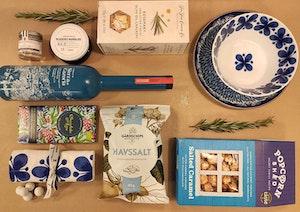 Sommargåvor - tema blå