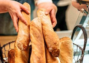 Vitlöksbröd för 2 personer