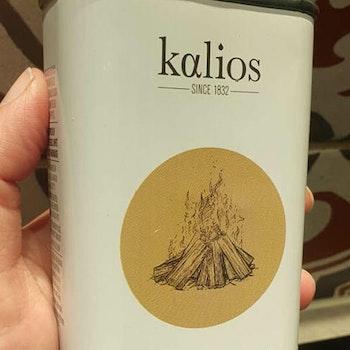 Rökt olivolja från Kalios