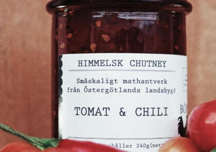 Tomat- och chili chutney