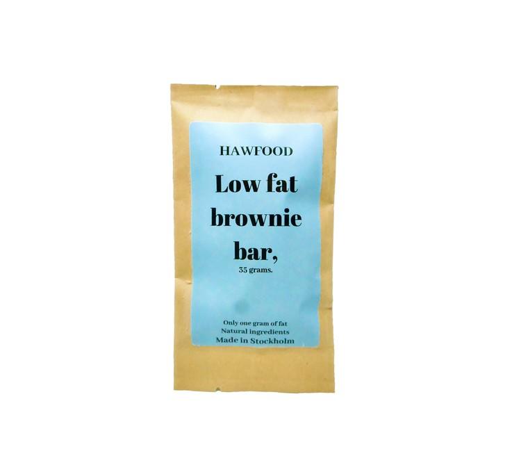 Low Fat Brownie Bar