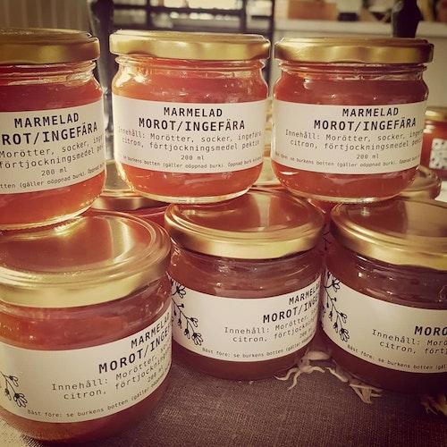 Marmelad morot/ingefära