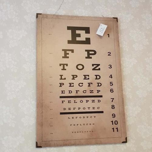 Optikerskylt