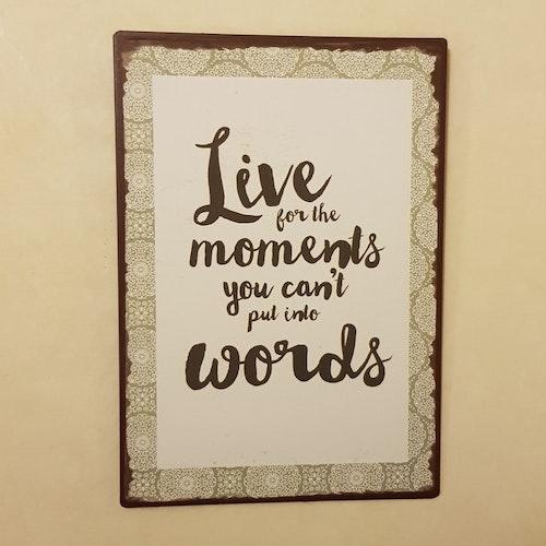"Skylt ""moments"""