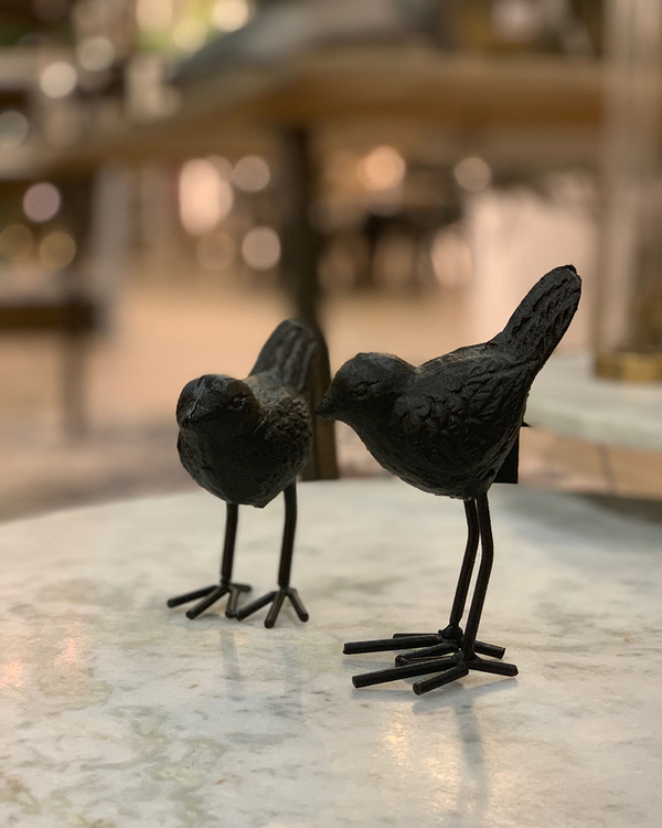Fågel i järn