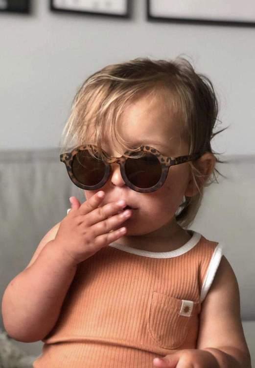 Solglasögon barn - BabyMocs leopard