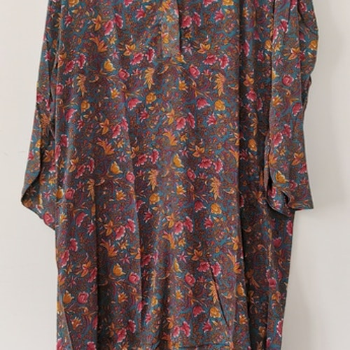Klänning/tunika i rosablommigt