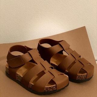 Babymocs sandaler bruna