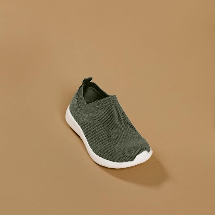 Babymocs sneakers gröna