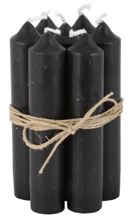 Kyrkljus svarta 5 st