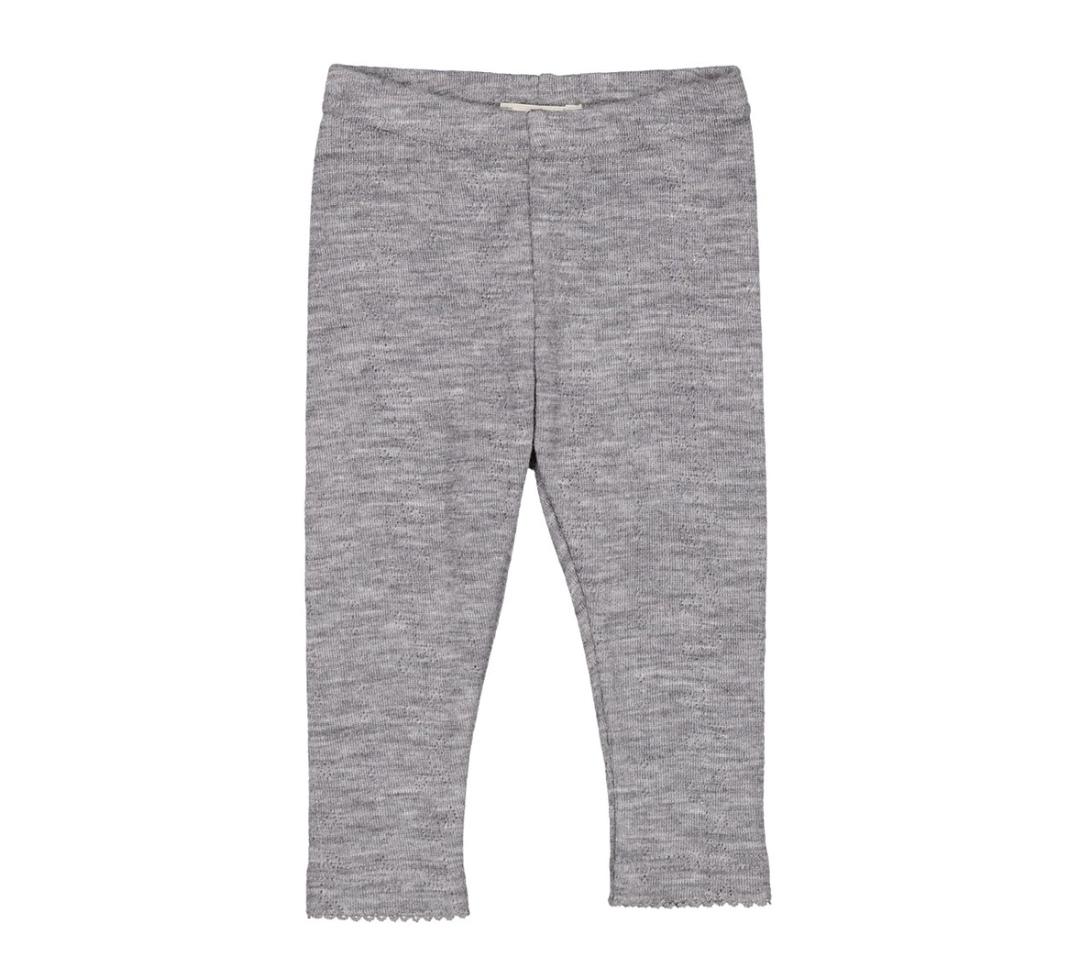Leggings Marmar 100% ull - grå