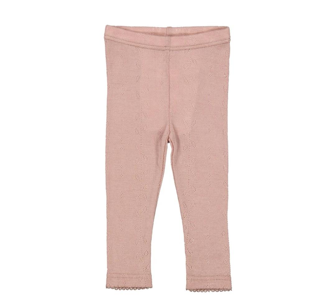 Leggings Marmar 100% ull - rose