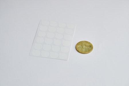 Glue sticker
