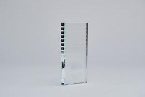 Fransplatta glas
