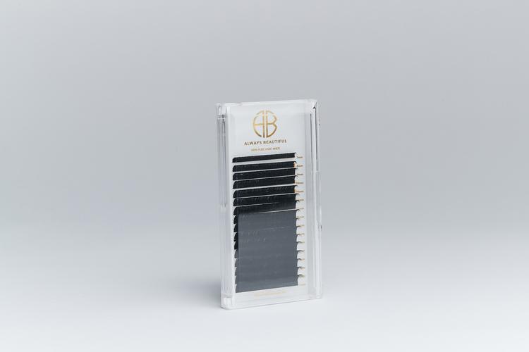 FLAT, D-böj, 0,10 mm, 8 mm