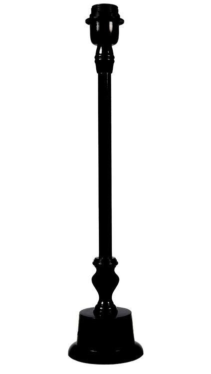 LOA LAMPFOT - MATT KROM ELLER SVART - 65 CM