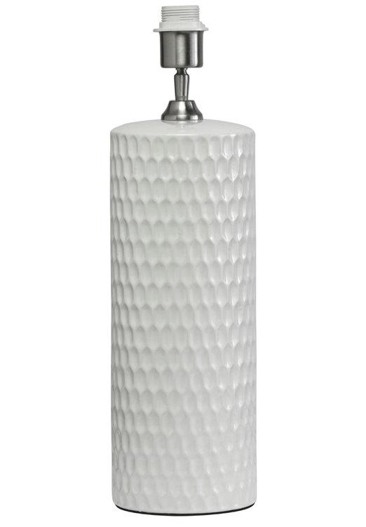 HONEYCOMB LAMPFOT - VIT - 52 CM