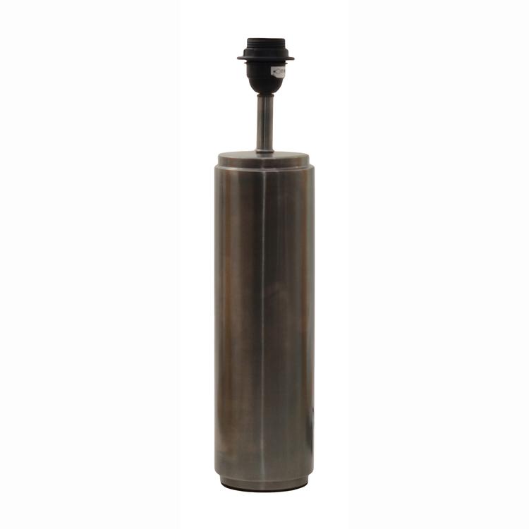 CYLINDRICA LAMPFOT - ANTIK SILVER - 45 CM