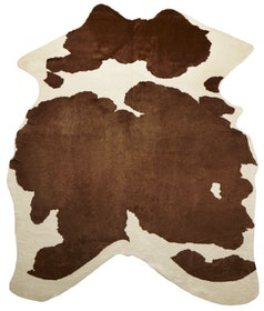 Kohud i konstmaterial - Viking - Brown/White