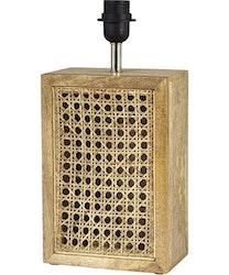 CEYLON LAMPFOT - AGED BROWN - 40 CM