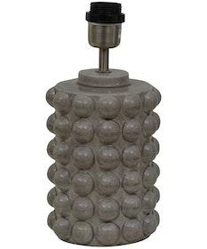 BUBBELS LAMPFOT - GREY - 29 CM