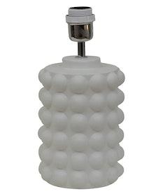 BUBBELS LAMPFOT - VIT - 29 CM