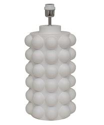BUBBELS LAMPFOT - VIT - 49 CM