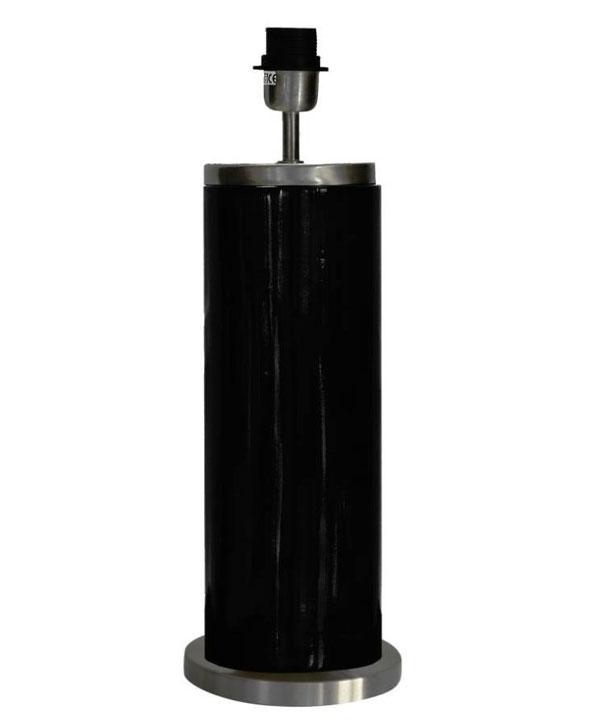 LISSABON LAMPFOT - SVART - 59 CM
