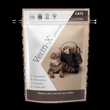 Verm-X Crunchies katt 120 g