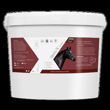 Verm-X pellets 8 kg (32 hästar)