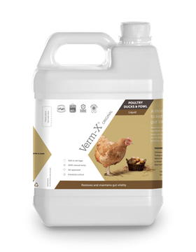 Verm-x höns/fjäderfä flytande 5 L