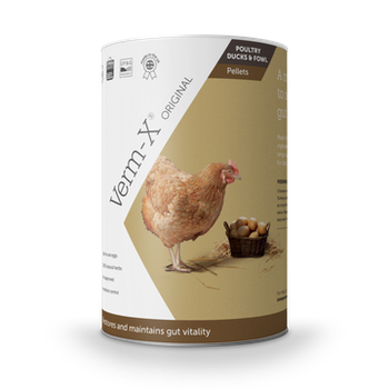 Verm-x höns/fjäderfä pellets 750 g