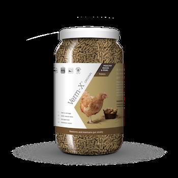 Verm-x höns/fjäderfä pellets 1,5 kg