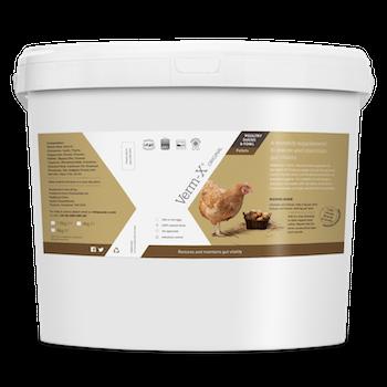 Verm-x höns/fjäderfä pellets 4 kg