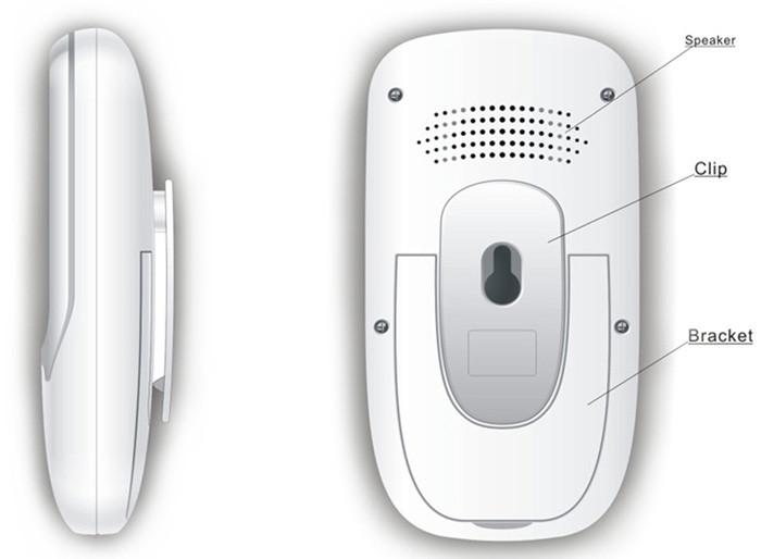 Babymonitor LCD HD kamera