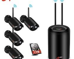 ANRAN Trådlöst Övervakningssystem 1080P