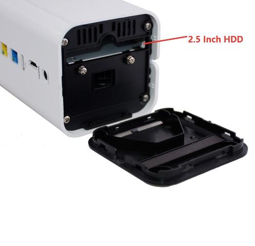 HIKVISION Wifi NVR-box med inbyggd router 8-kanalers 1080P