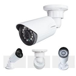 H.VIEW övervakningssystem 720P 4 kameror IP66
