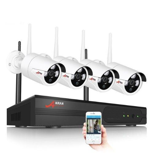ANRAN Trådlöst Övervakningssystem 5MP vit