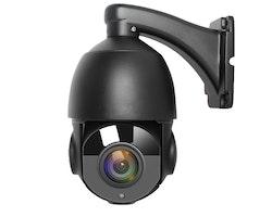 BOAVISION 4MP PTZ Utomhus ip-kamera 30X Zoom SVART