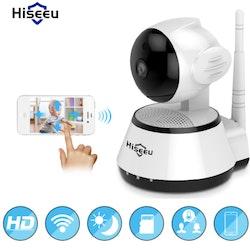 Hiseeu Trådlös Övervakningskamera 720P 32GB Minneskort
