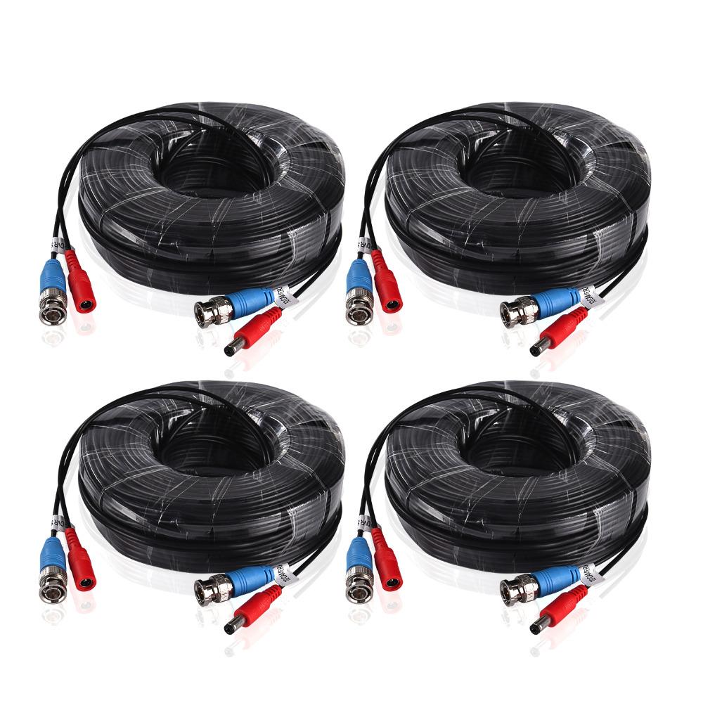ANNKE BNC Video- och strömkabel CCTV Övervakningssystem 30 m