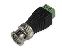 BNC-kontakt Koaxial CCTV Övervakningssystem