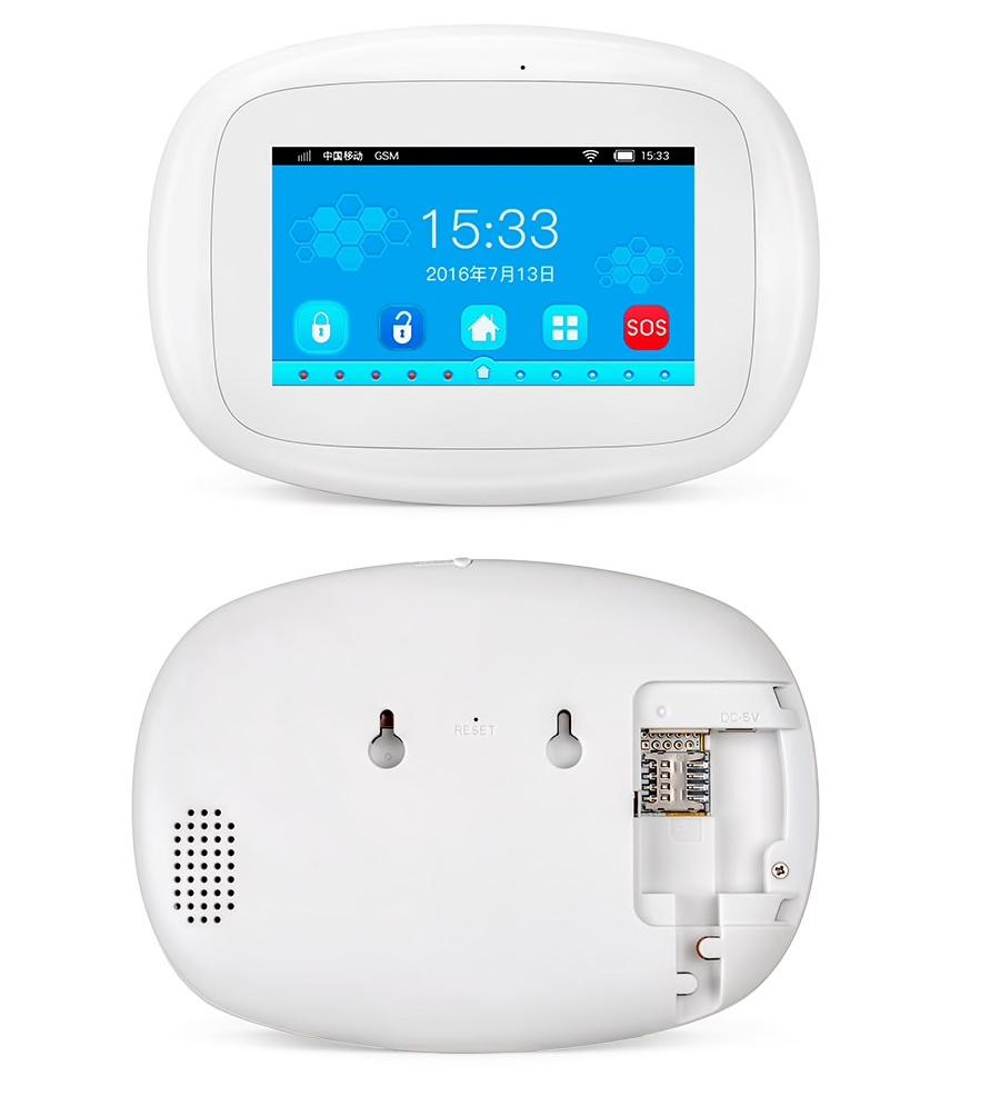 KERUI Avancerad Wi-Fi GSM GPRS Trådlös Larmpanel