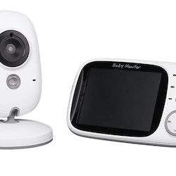 """Babyvakt 3,2"""" LCD skärm med 2-vägs kommunikation"""